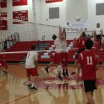 Herald Volleyball sweeps Maranatha