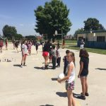 Heralds give Volleyball clinic at local Elementary School!