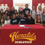 Four Heralds sign to play in College!