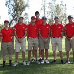 Whittier Christian High School Boys Varsity Golf beat Maranatha High School 190-220