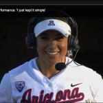 Former Herald Softball player Mandie Perez' big day at Arizona!