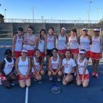Lady Herald Tennis defeats Los Altos 15-3