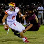 OC Register Article about Herald QB Quinn Commans