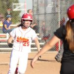 Whittier Christian High School Varsity Softball beat Notre Dame/Riverside High School 10-1