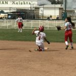 Whittier Christian High School Varsity Softball beat St. Pius X – St. Matthias Academy 13-2