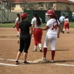 Whittier Christian High School Varsity Softball beat Mary Star Of The Sea High School 3-0