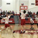 Whittier Christian High School Boys Varsity Volleyball beat Heritage Christian 3-1