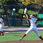 Whittier Christian High School Varsity Softball beat Maranatha High School 2-1