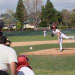 Whittier Christian High School Varsity Baseball beat Rowland High School 6-5