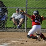 Whittier Christian High School Varsity Softball beat Valley Christian/Cerritos 11-6
