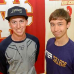 Whittier Daily News article about Hudson and White Signing