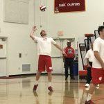Whittier Christian High School Boys Varsity Volleyball beat Village Christian High School 3-0