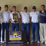 Former Herald Golfer Karsten Briley helps The Master's University to GSAC Conference Title!