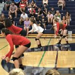 Whittier Christian High School Girls Varsity Volleyball falls to Sonora 3-0