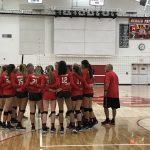 Girls Varsity Volleyball beats Maranatha 2 – 3