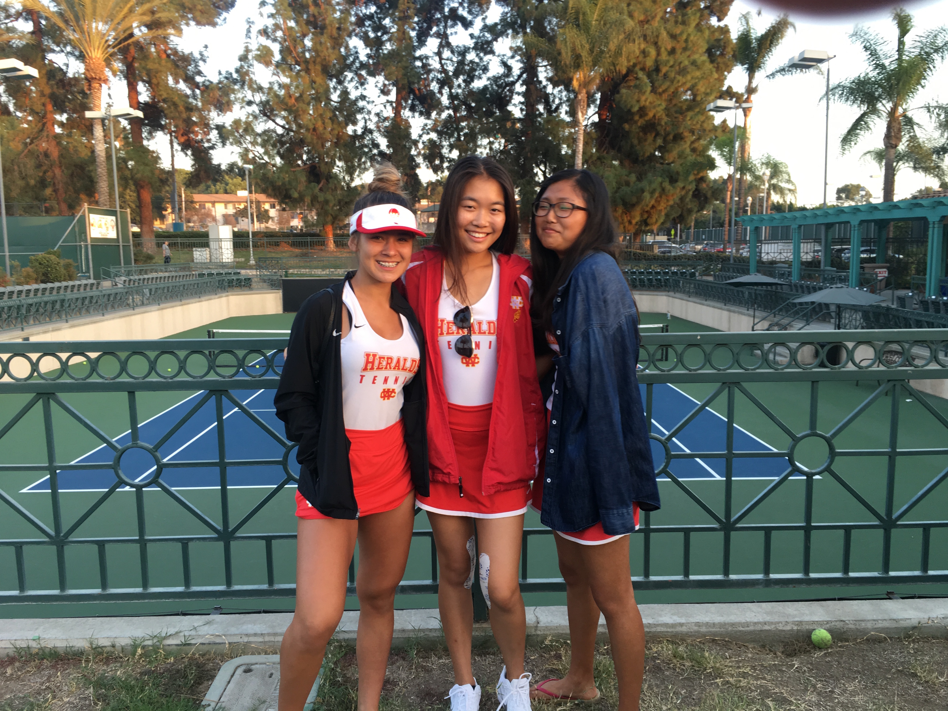 Herald Girls Tennis Defeats Heritage Christian 11-7