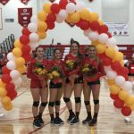 Celebration Night for our Volleyball Seniors!