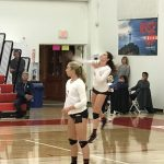 Lady Herald Volleyball CIF pictures vs. Laguna Blanca