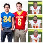 Four Heralds on All-Area Football Team!
