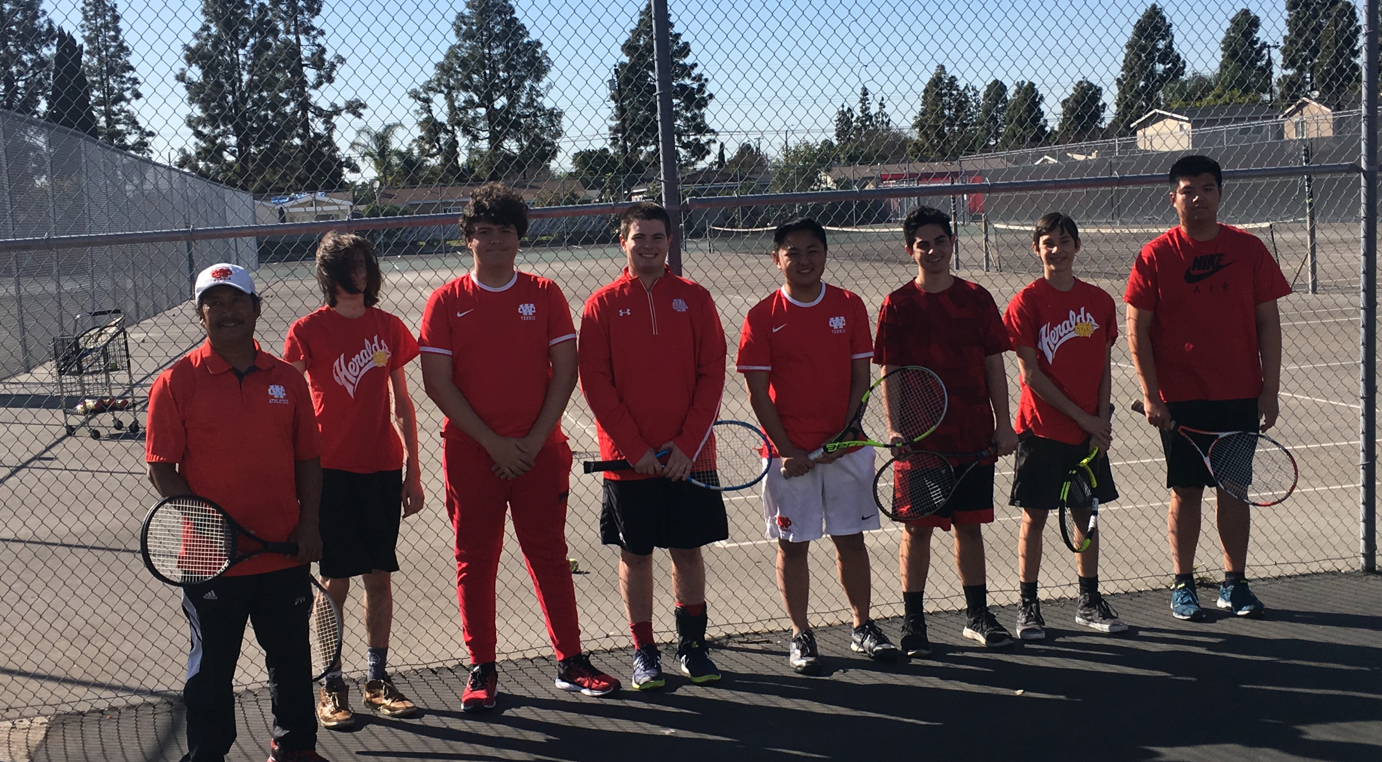 Boys Tennis Leads Off the Spring with a Win!