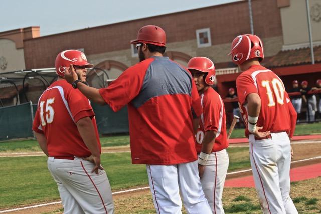 Boys Varsity Baseball beats Whitney 14 – 2
