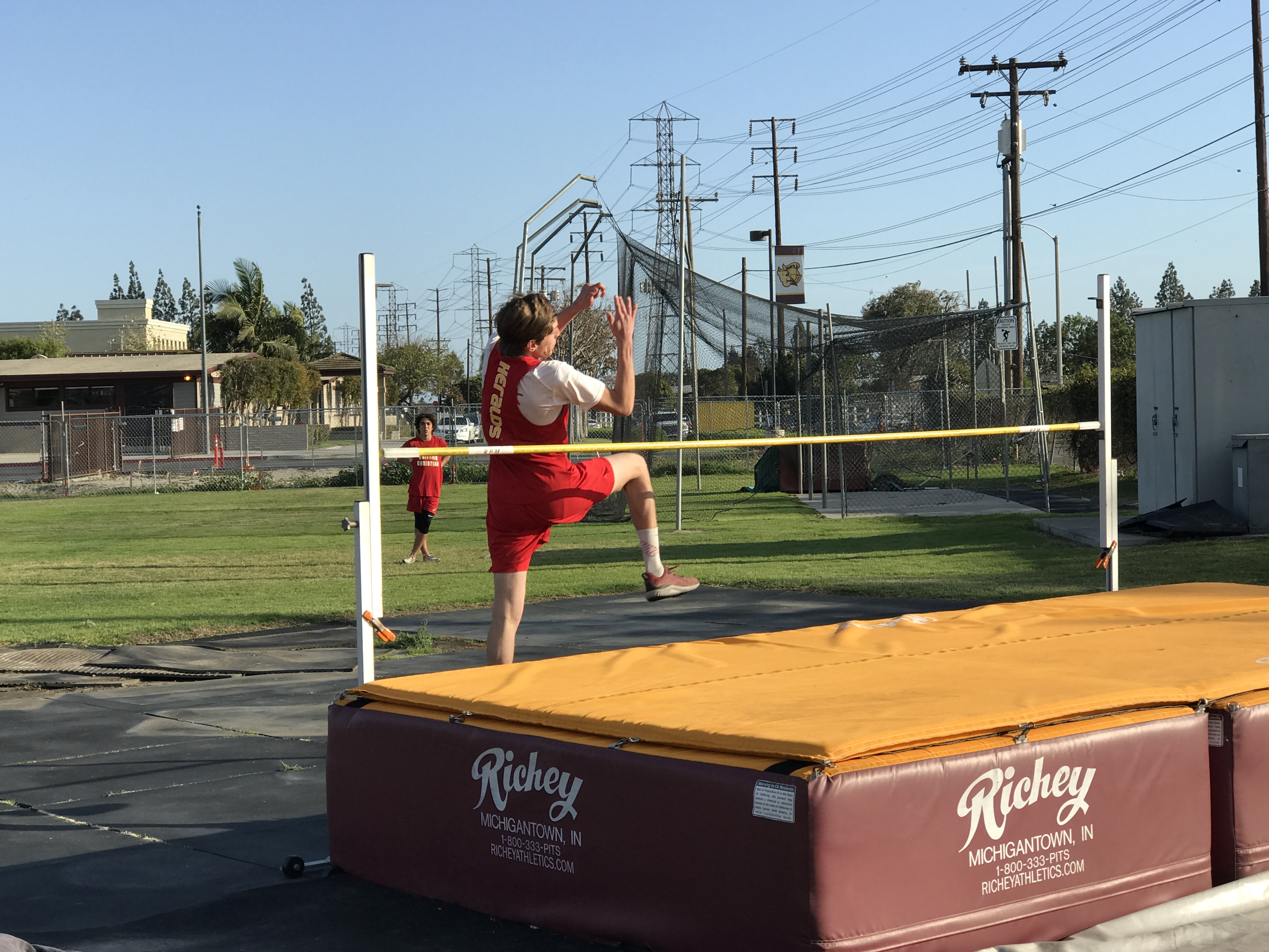Herald Track Team Competes at Valley Christian