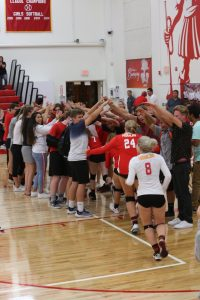 NEW PHOTOS:  Girls Varsity Volleyball 3-0 Sweep over Rosary