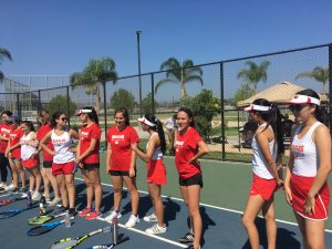 NEW PHOTOS:  Girls Tennis vs. Cal High