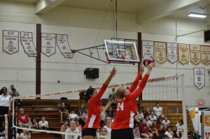 Varsity Girls Volleyball vs. El Modena August 28