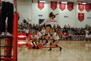 Herald Varsity Volleyball 3-0 Sweep over La Serna!