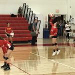 JV Girls Volleyball vs Heritage