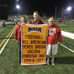 Former Herald Derek Brush honored with Gym Banner!