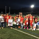 Heralds Football Honors Their Seniors