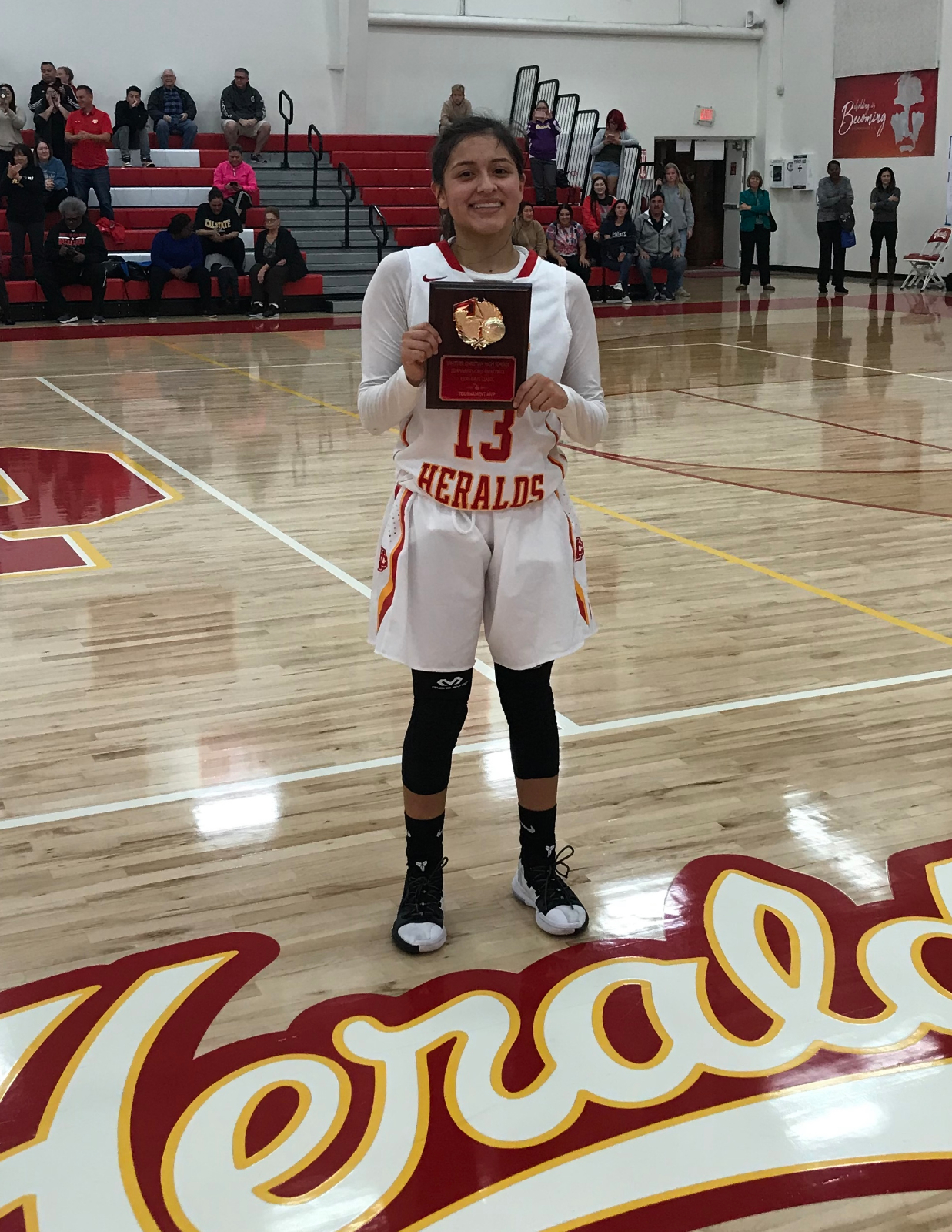 Joleen Corona chosen as San Gabriel Valley Athlete of the Week!