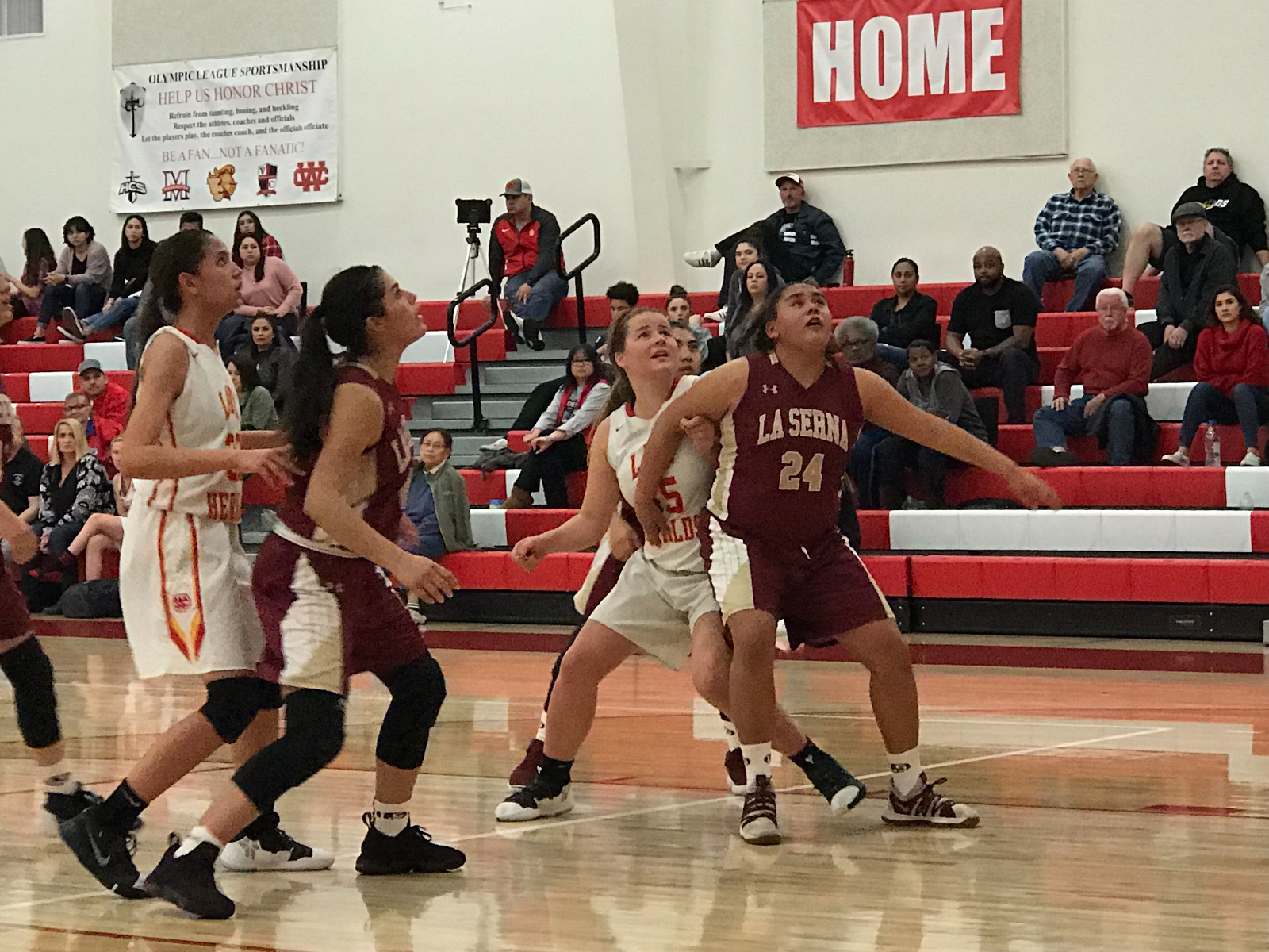 Lady Heralds earn 53-42 victory over La Serna High