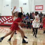 Lady Heralds earn 55-44 victory over the Maranatha Minutemen