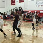 Lady Heralds move into 1st place with 43–33 victory over Valley Christian