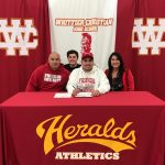 Herald Vincent Maughan signs to Friends University!