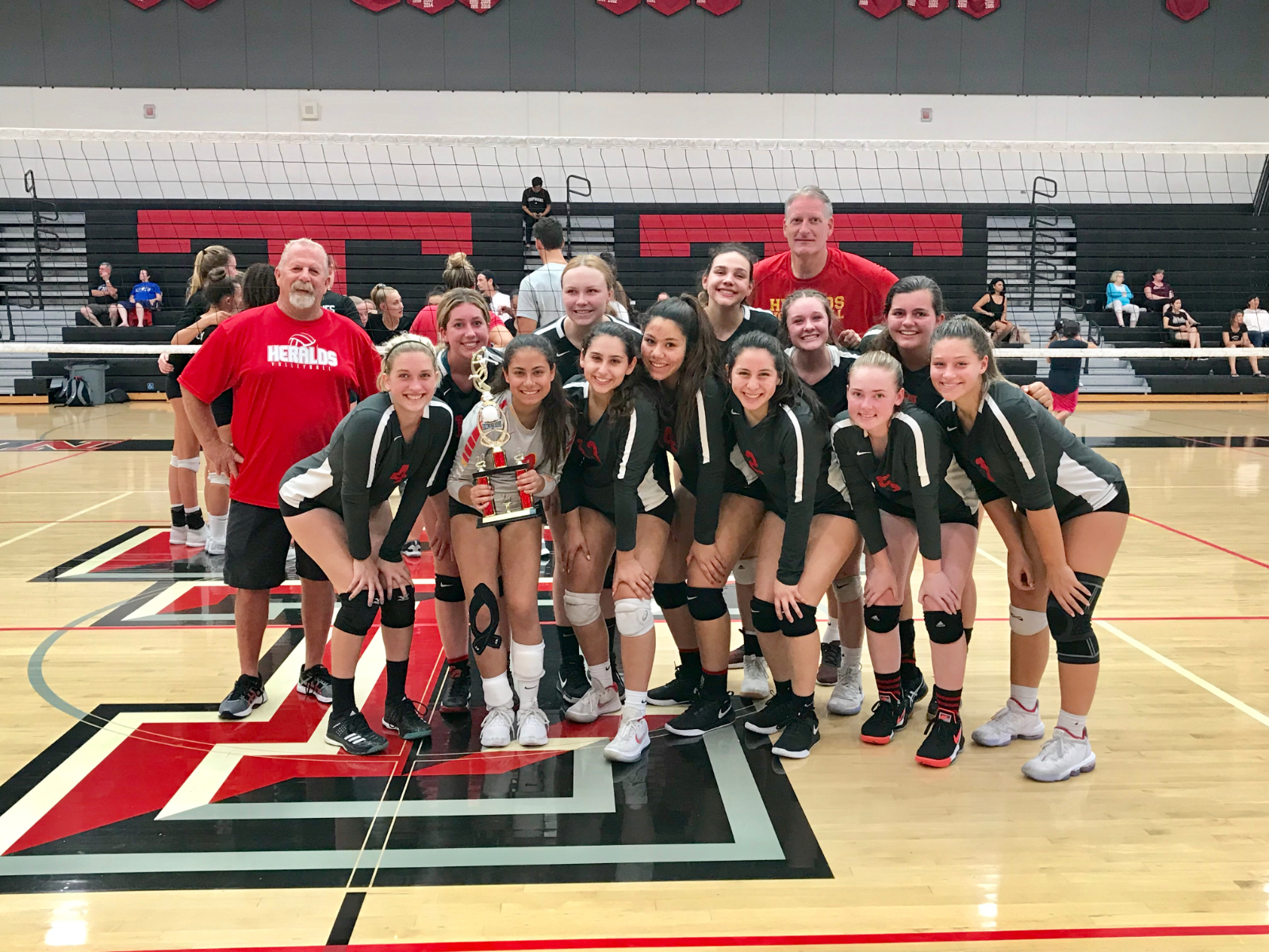 HERALDS GIRLS VOLLEYBALL ON TO CIF-SS PLAYOFFS