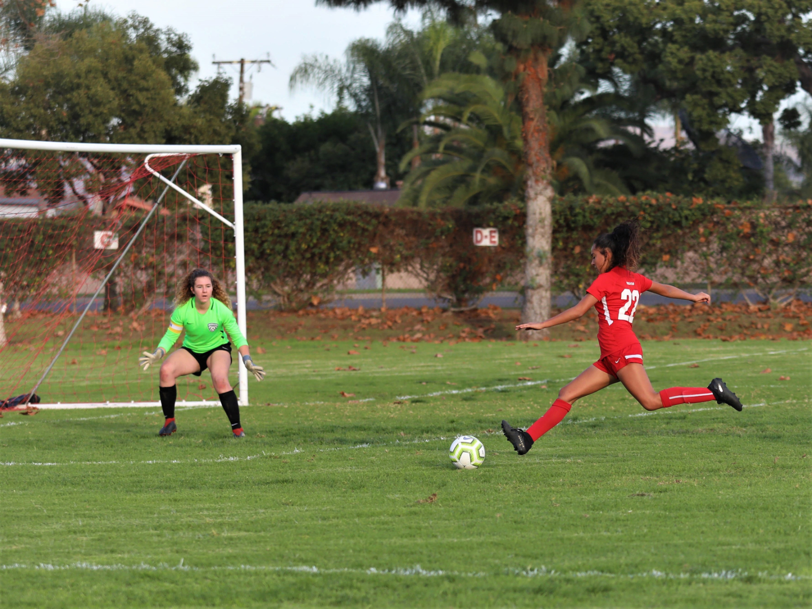 Whittier Christian Girls Soccer Loses Tough Match to Pacifica Christian