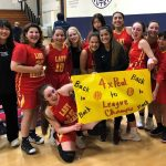 Lady Heralds JV Team Takes Olympic League Title for the 4th Straight Year!
