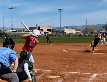 WC Softball Gets Second Win in Bullhead City Tourney!