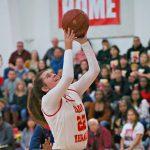 Haley Gainer Ties WC Lady Herald Rebounding Record