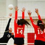 WCHS Girls Varsity Volleyball vs. Heritage Christian (4 of 4)