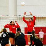 WCHS Girls Varsity Volleyball vs. Heritage Christian (3 of 4)