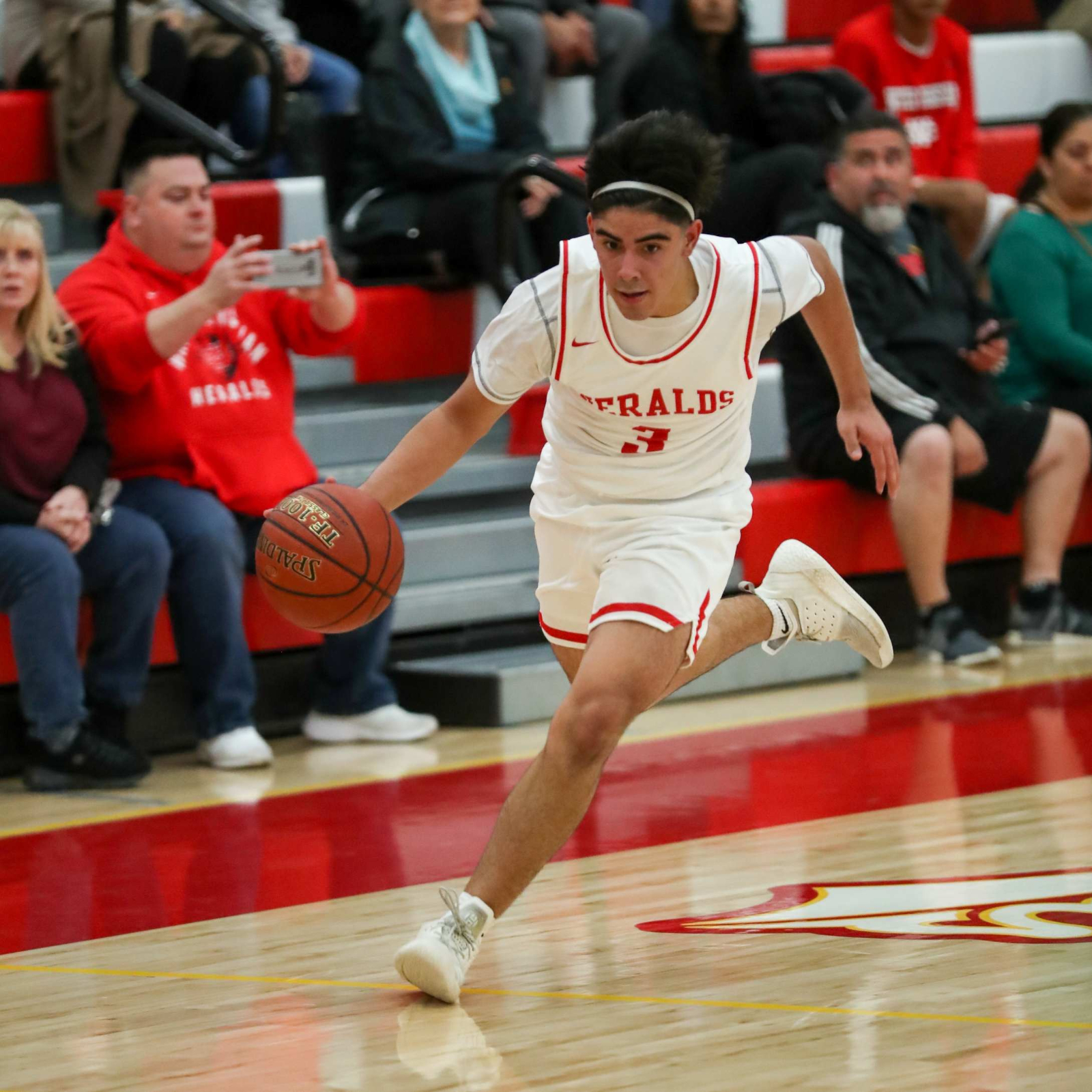 WCHS Boys Varsity Basketball vs. California High School (Game Images 2 of 2)