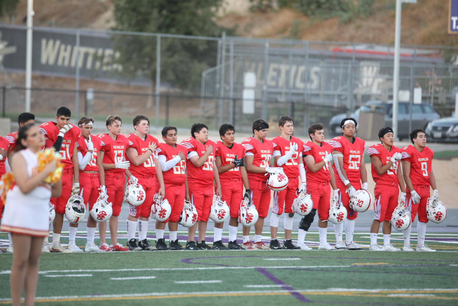 WCHS Football vs. Cantwell Pictures (Volume 1)