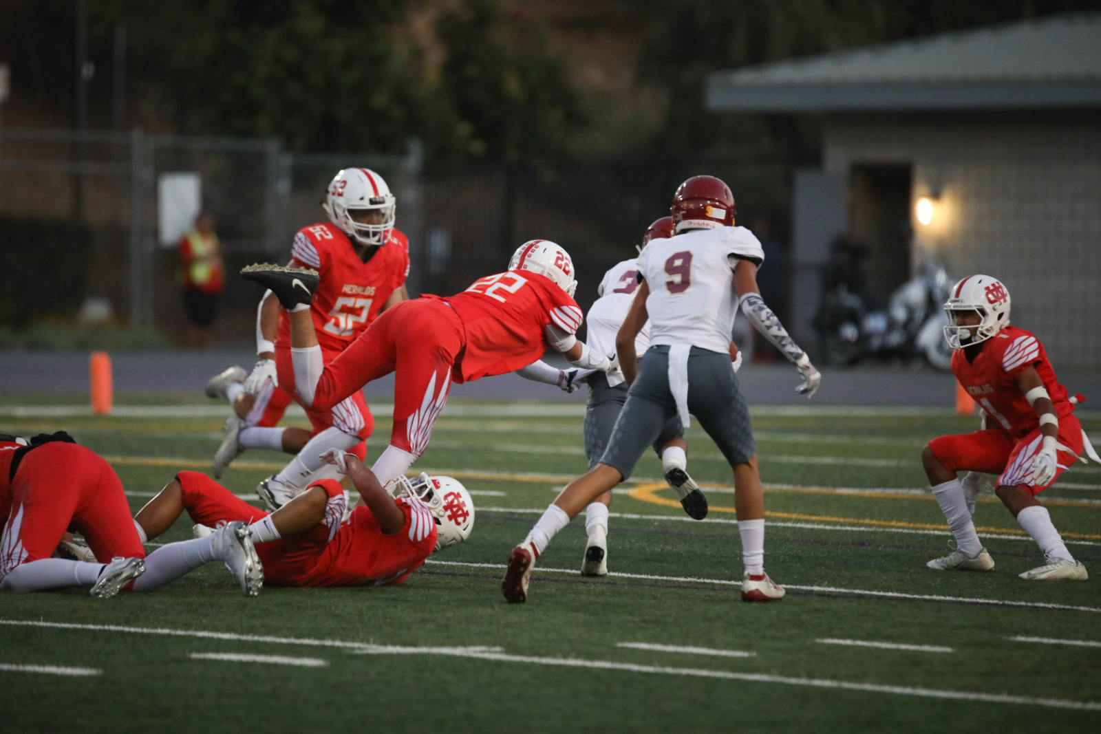 WCHS Football vs. Cantwell Pictures (Volume 5)