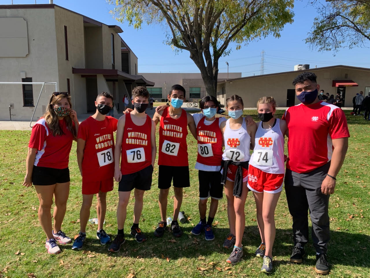 WCHS Heralds XC Competes in First Olympic League Meet