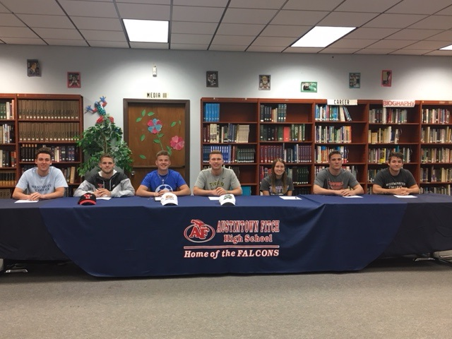 Fitch Athletes Continuing Athletic Careers